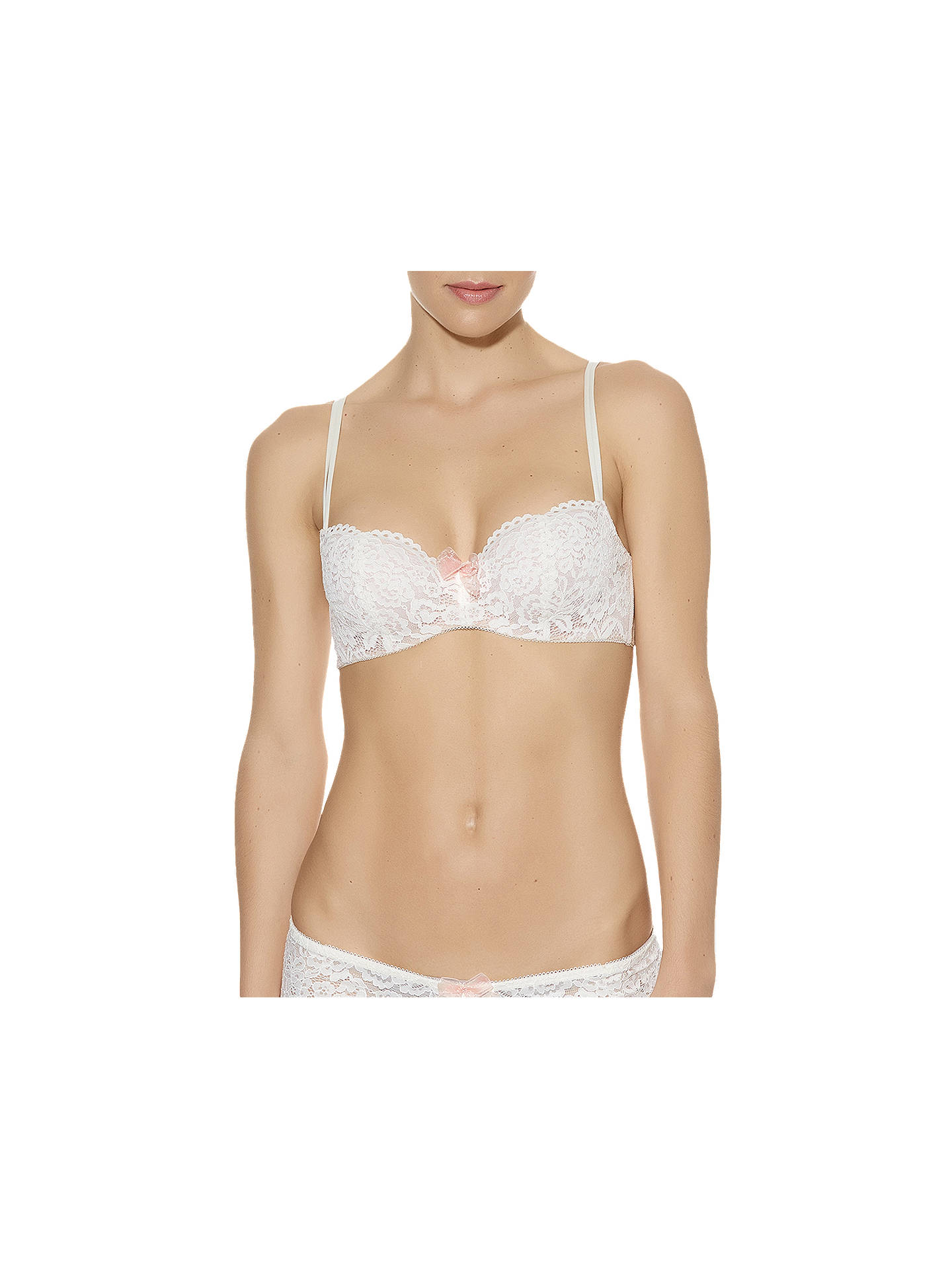 Buy b.tempt'd Ciao Bella Balonette Bra, Vanilla Ice, 32B Online at johnlewis.com
