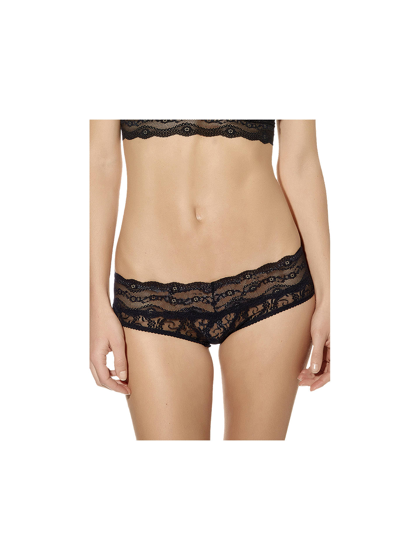 Buyb.tempt'd Lace Kiss Hipster Briefs, Night, S Online at johnlewis.com