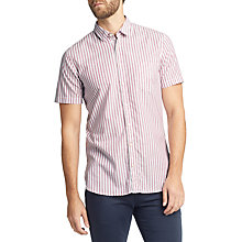 Buy BOSS Cattitude Short Sleeve Stripe Shirt Online at johnlewis.com
