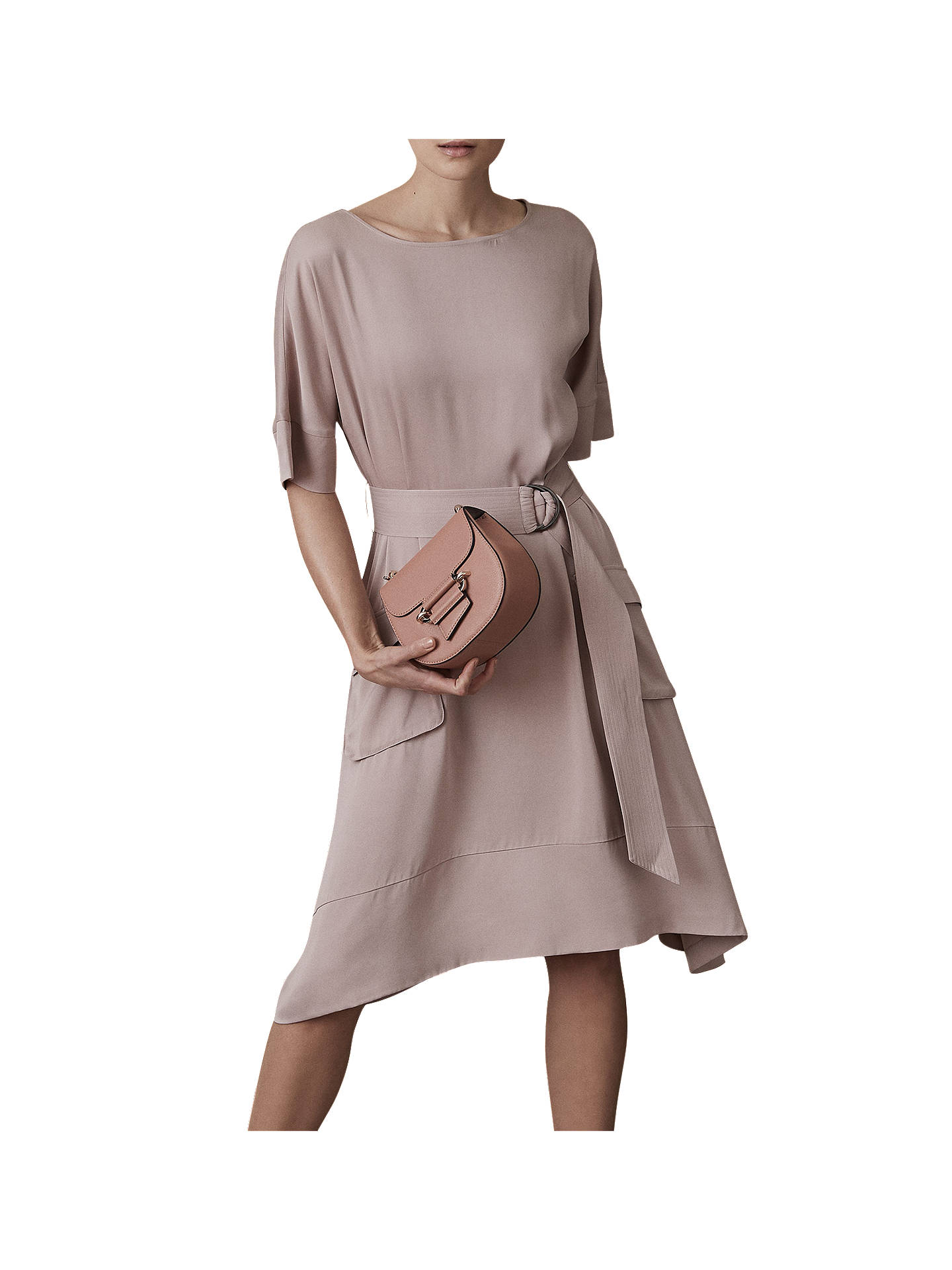 Reiss Mars Belted Dress At John Lewis Amp Partners