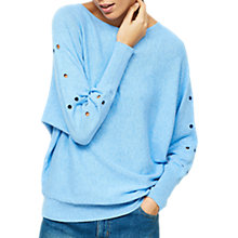 Buy Mint Velvet Eyelet Batwing Jumper Online at johnlewis.com