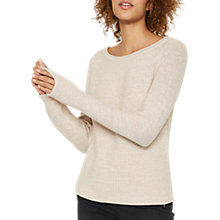Buy Mint Velvet Metallic Knit Jumper, Blossom Online at johnlewis.com