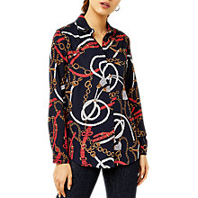 Buy Warehouse Stirrup Print Shirt, Multi Online at johnlewis.com
