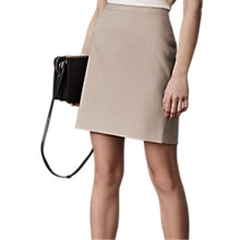 Buy Reiss Maddox Tailored Skirt, Camel Online at johnlewis.com