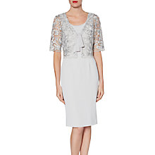 Buy Gina Bacconi Lily Dress, Grey Silver Online at johnlewis.com