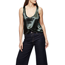Buy Reiss Hula Silk Front Vest Online at johnlewis.com