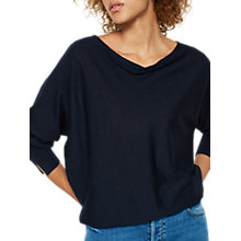 Buy Mint Velvet Merino Wool Cowl Neck Jumper Online at johnlewis.com