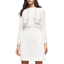 Buy Reiss Bruna Lace Top Dress Online at johnlewis.com