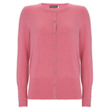 Buy Mint Velvet Cardigan, Pink Online at johnlewis.com
