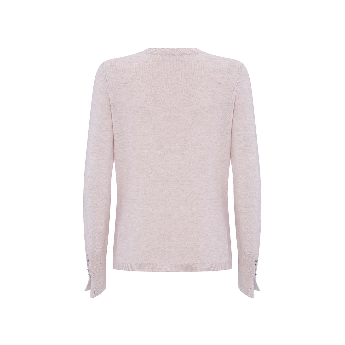 sweater the light pink on hunt knit