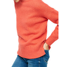 Buy Mint Velvet Love Crew Neck Jumper, Watermelon Online at johnlewis.com