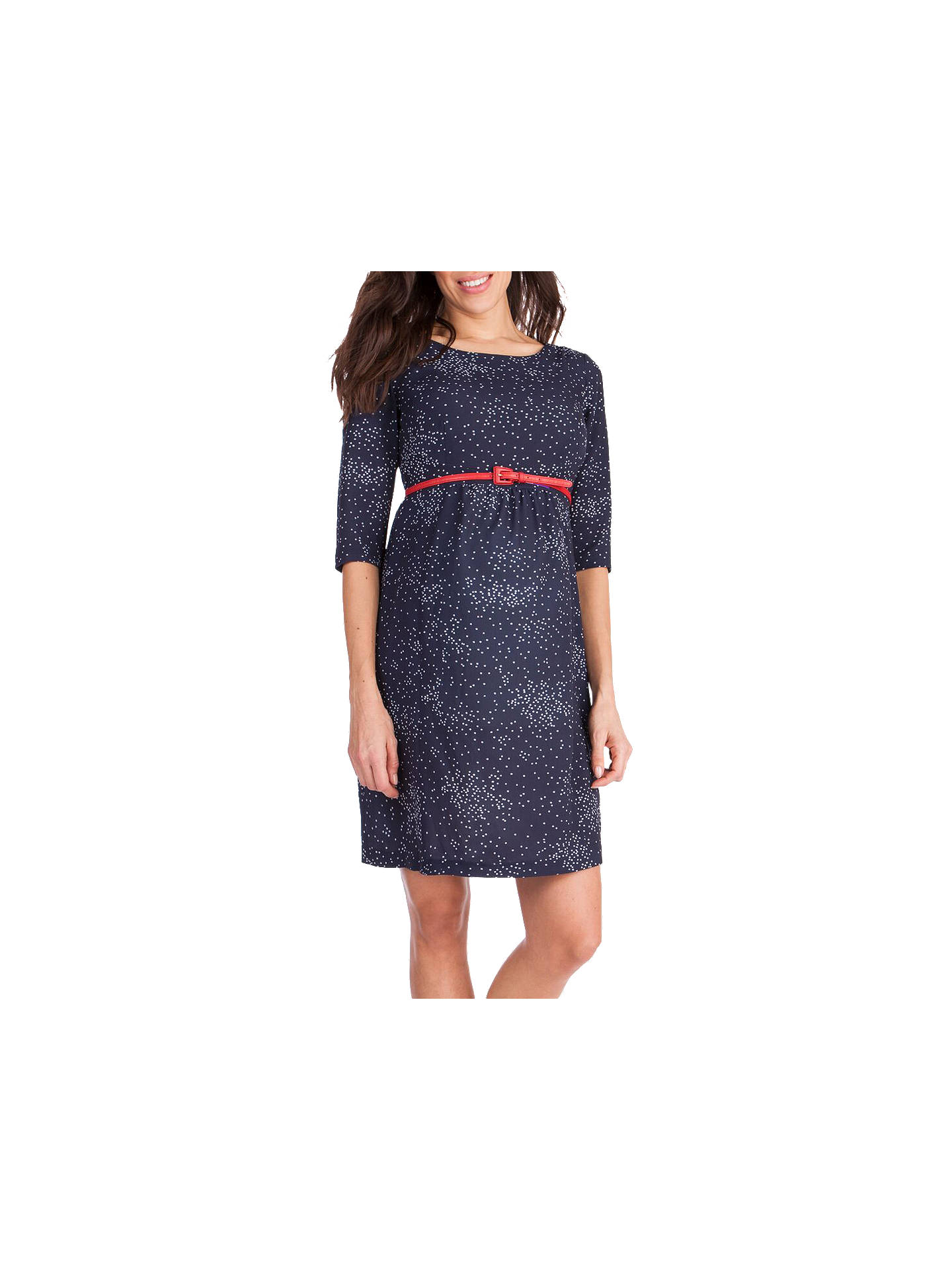Buy Séraphine Minnie Maternity Shift Dress, Blue, 8 Online at johnlewis.com