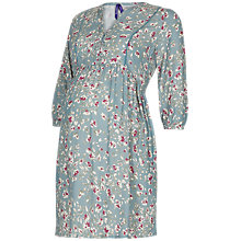 Buy Séraphine India Floral Maternity Nursing Dress, Blue Online at johnlewis.com