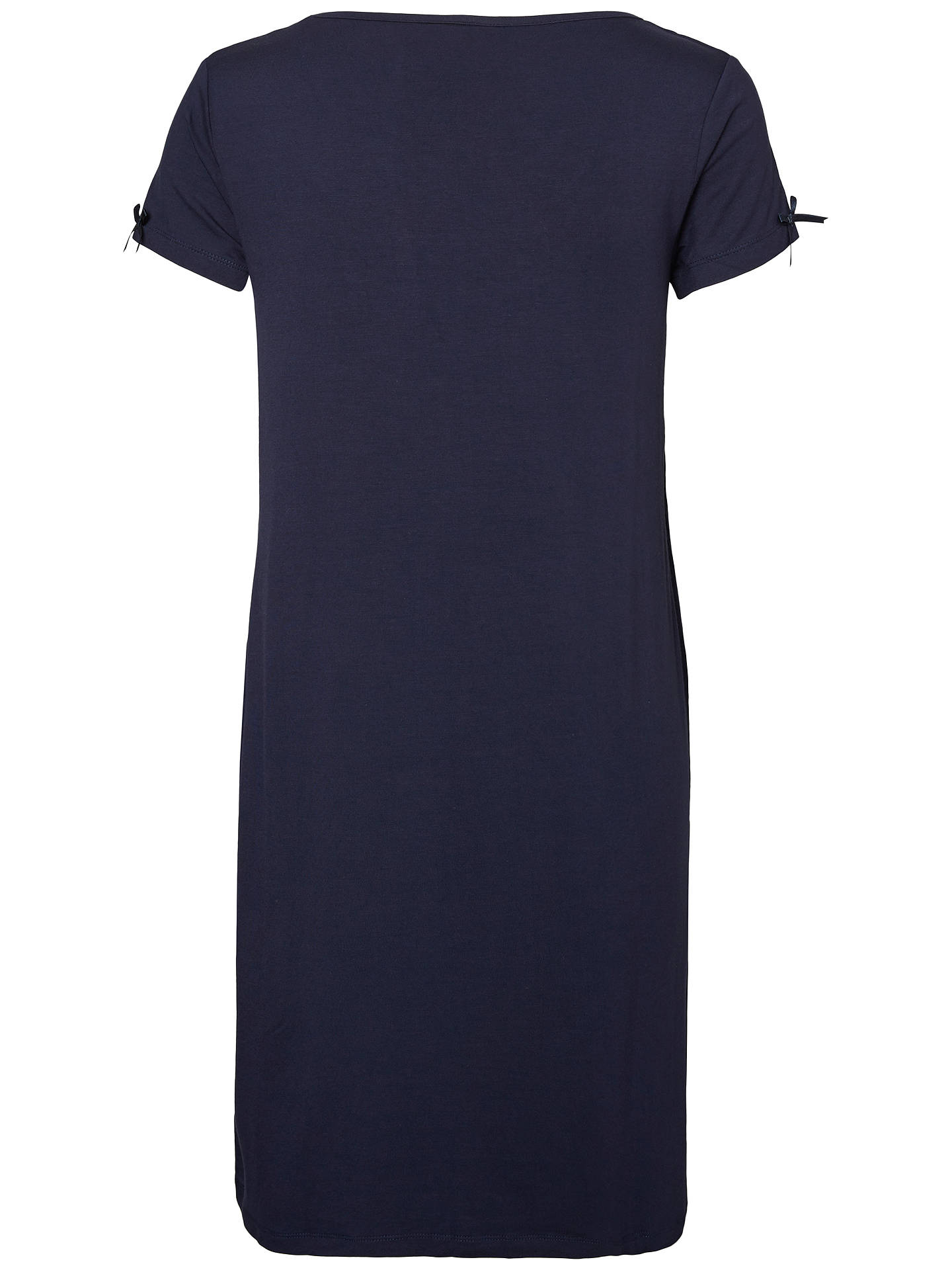 BuyMamalicious Petrine Nell Maternity Nursing Nightdress, Navy, S Online at johnlewis.com