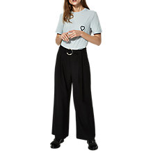 Buy Selected Femme Aila Trousers, Black Online at johnlewis.com