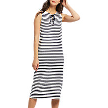 Buy Joules Anita Dress, Cream Stripe Online at johnlewis.com