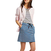 Buy Joules Stripe Jersey Skirt, Saltwash Blue Online at johnlewis.com