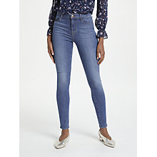 Buy J Brand Maria High Rise Skinny Jeans, Asteria Online at johnlewis.com