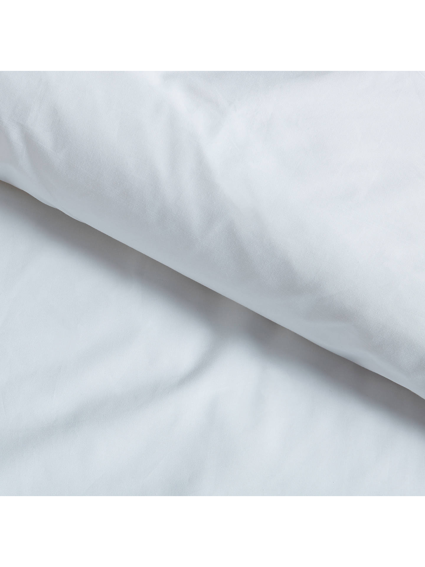 Buy Croft Collection Organic Cotton Standard Pillowcase, White Online at johnlewis.com