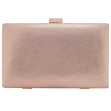 Buy Dune Brocco Clasp Clutch, Rose Gold Online at johnlewis.com