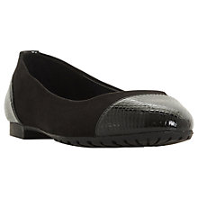 Buy Dune Hendrix Ballet Pumps Online at johnlewis.com
