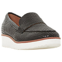 Buy Dune Gessie Flatform Loafers Online at johnlewis.com