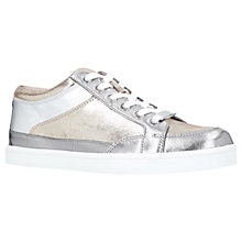 Buy Carvela Legacy Lace-Up Trainers, Pewter Online at johnlewis.com