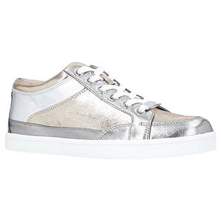 Carvela Legacy Lace-Up Trainers, Pewter