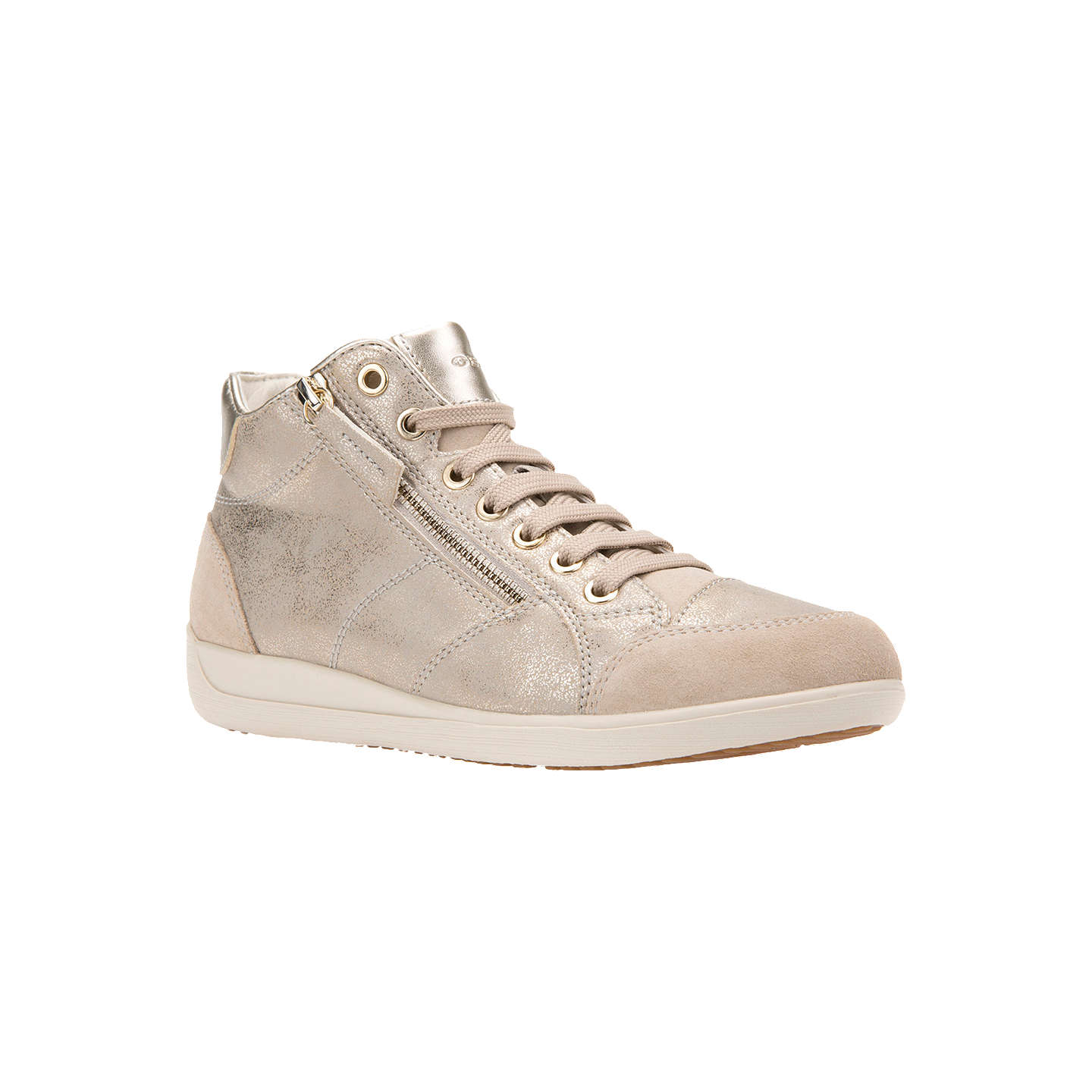 BuyGeox Women's Myria High Top Lace Up Trainers