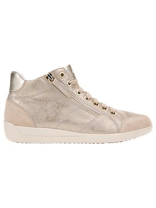 ddfa234105a Geox Women s Myria High Top Lace Up Trainers
