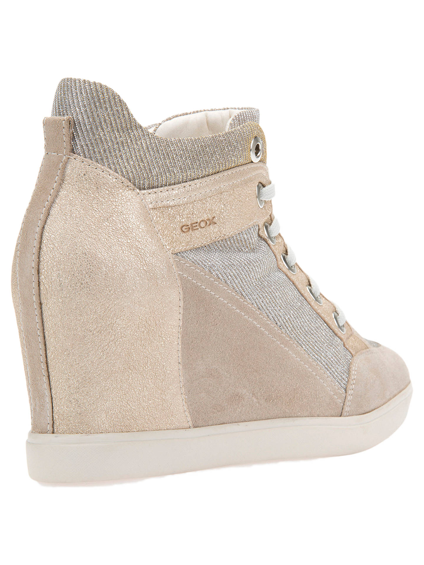 04db9cf23013 Geox Women s Eleni Wedge Heel Trainers at John Lewis   Partners