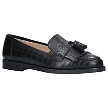 Buy Carvela Leona Leather Pumps, Black Online at johnlewis.com