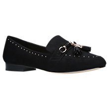 Buy Carvela Lemon Tassel Loafers, Black Online at johnlewis.com