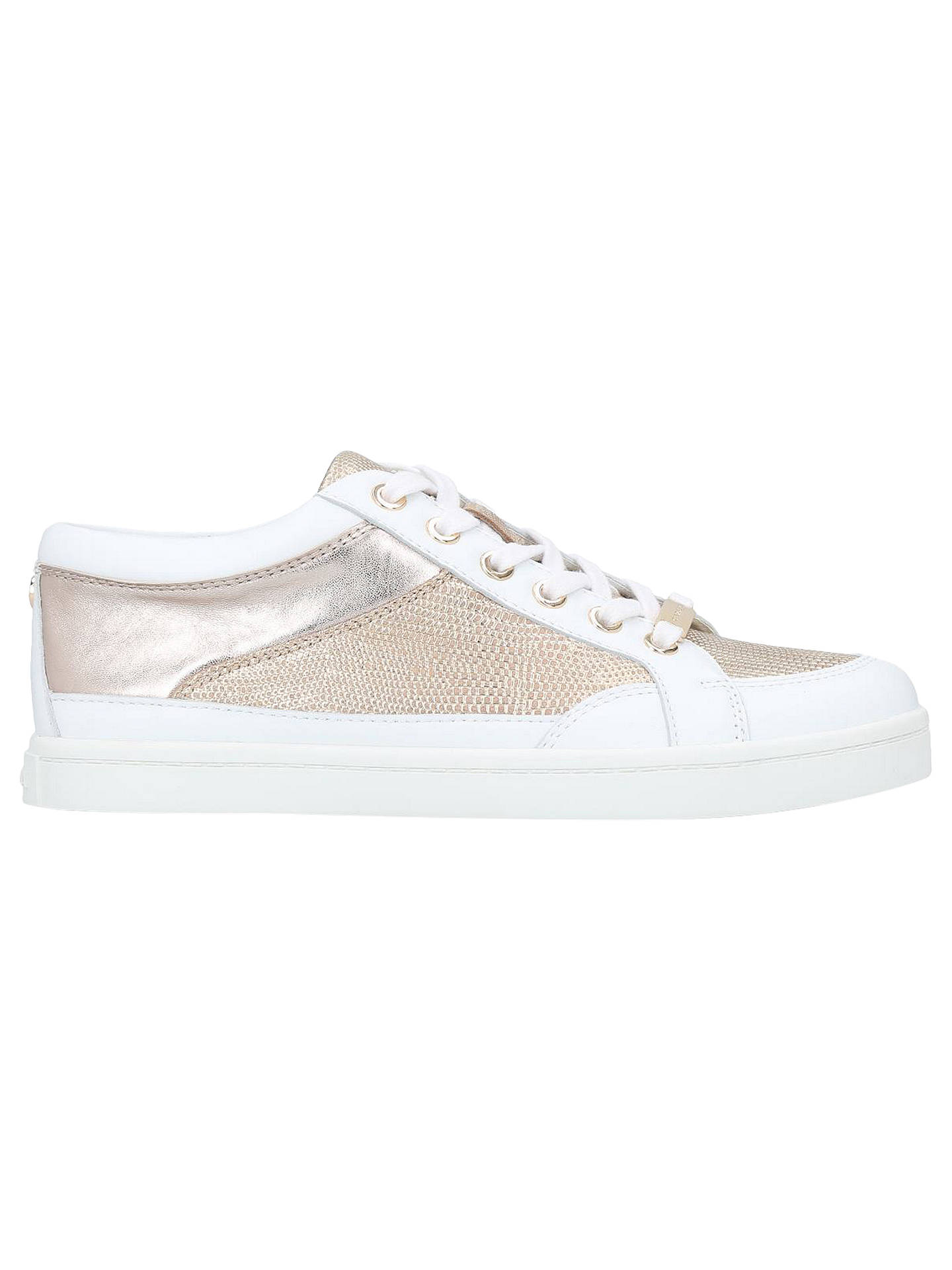 thoughts on best choice super cute Carvela Legacy Lace-Up Trainers, White at John Lewis & Partners