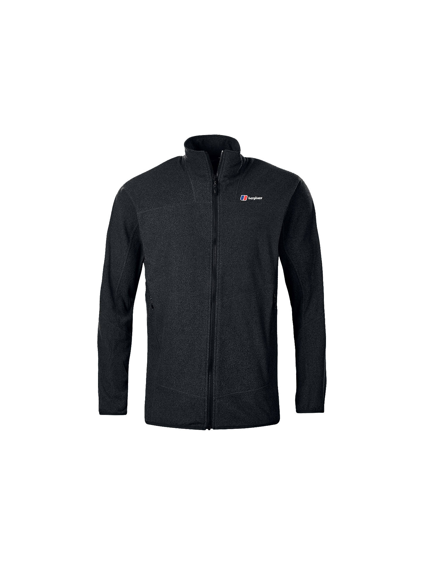 BuyBerghaus Spectrum Full Zip Men's Fleece, Jet Black Marl, S Online at johnlewis.com