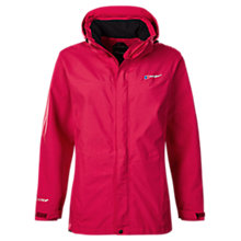 Buy Berghaus Hillwalker Waterproof Women's Jacket, Dark Cerise Online at johnlewis.com