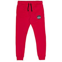 Buy Hype Boys' Crest Logo Joggers, Red Online at johnlewis.com