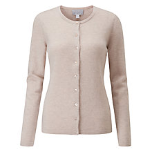 Buy Pure Collection Sparkle Cashmere Cardigan, Marble Sparkle Online at johnlewis.com
