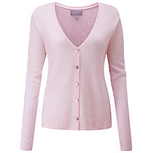 Buy Pure Collection Gassato Pointelle Cashmere Cardigan Online at johnlewis.com