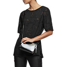 Buy Reiss Gabriella Burnout Top Online at johnlewis.com