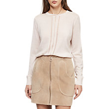Buy Reiss Serena Merino Crew Neck Jumper Online at johnlewis.com