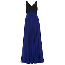 Buy Phase Eight Collection 8 Elfie Ombre Dress, Cobalt Online at johnlewis.com