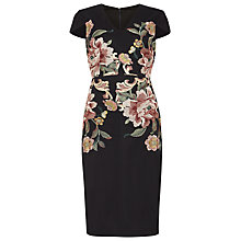 Buy Phase Eight Nara Floral Embroidered Dress, Navy Online at johnlewis.com