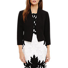 Buy Phase Eight Suzanna Jacket, Black Online at johnlewis.com