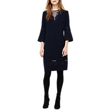 Buy Phase Eight Pandora Dress, Navy Online at johnlewis.com
