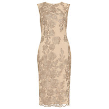Buy Phase Eight Rhea Dress, Latte Online at johnlewis.com