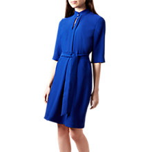 Buy Hobbs Lois Shirt Dress, Cobalt Online at johnlewis.com