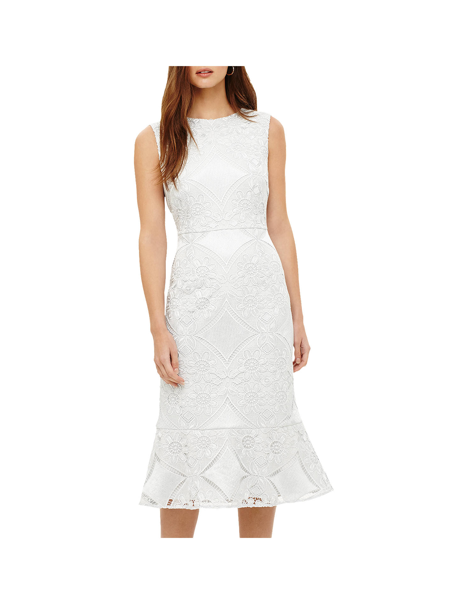 Phase Eight Jemime Lace Dress Blue Opal At John Lewis Partners