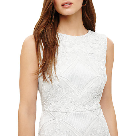 Buy Phase Eight Jemime Lace Dress, Blue Opal Online at johnlewis.com