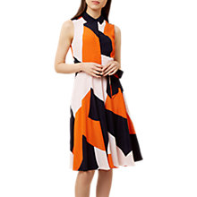 Buy Hobbs Belinda Dress, Multi Online at johnlewis.com